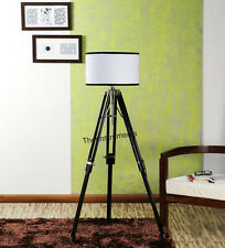 COLLECTIBLE  DESIGNER TRIPOD FLOOR LAMP STAND MODERN LAMP SHADE TRIPOD STAND