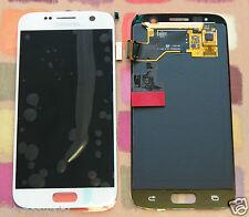 Genuino Blanco Samsung SM-G930F Galaxy S7 Pantalla Amoled 2k Pantalla LCD noadhesive