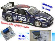 Maserati Trofeo Light Daytona 2001  Metall-Bausatz  BBR  1:43  NEU  OVP