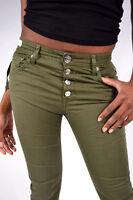 REPLAY Jeans WA698 PILAR Boyfriend Stoffhose Olive NEU Größe W26/L28  W32/L30