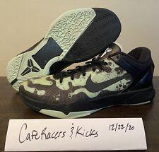 Nike Zoom Kobe VII 7 System Mint Green Black Poison Dart Frog 488371-300 Sz 10.5