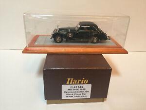 1/43 Ilario 1938 Mercedes Benz 540K Cabriolet closed Norrmalm black IL43145