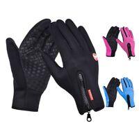 Mens Women Winter Warm Gloves Waterproof Windproof Thermal Touch Screen Mittens