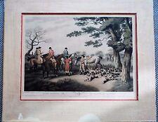 Orme Hare Hunting Print 2nd - Samuel Hewitt La Chasse Au Lievre Godby, Merke