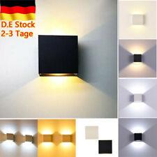 COB LED Wandleuchte Wandlampe Flur Strahler Licht Up Down Außen/Innen 6W Modern