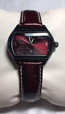 xxCom Japan Burgundy Deep Red Maroon Leather Waterproof Glow in dark 7.5 Rare