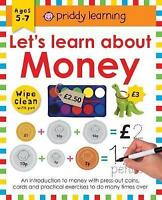 Lets Learn About Money (Wipe Clean Workbooks) by Roger Priddy | Spiral-bound Boo