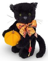 Halloween Cat by Teddy Hermann - limited edition mohair collectable bear - 11752