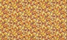 Cuarto gordo Amarillo Otoño Hojas De Tela Algodón Acolcha Costura de paisaje