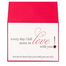 """Fabulous Papyrus Funny Piss Me Off Anniversary Card """"must see"""" super cute"""