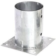Aufschraubhülse 101 Pfostenhülse für runde Pfosten Ø 100 mm