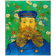 Van Gogh, Portrait of the Postman Joseph Roulin Deco FRIDGE MAGNET, 1888 Gift