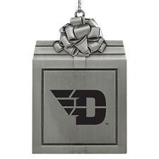 University of Dayton -Pewter Christmas Holiday Ornament-Silver