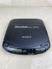 Sony Walkman D-131 CD Compact Disc Discman Black Portable Player Mega Bass 1994