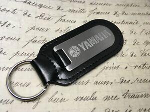 Yamaha Key Anello Blind etched On Leather