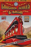 CROSBY, STILLS & NASH 2003 TOUR MARRAKESH EXPRESS CONCERT POSTER / NMT 2 MINT
