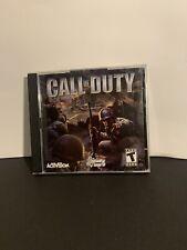 Call of Duty PC Game 2003 Microsoft Windows 98/ME/2000/XP