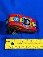 Yone Japan Acro Car Tin Litho Windup VTG Flip Carnival Acrobat Race Driver 3