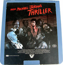 """Michael Jackson CED Video 12"""" Disc MAKING OF THRILLER USA 1983"""