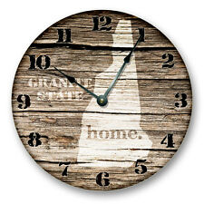 "NEW HAMPSHIRE HOMELAND CLOCK - 10.5"" Clock - NH_HMLND"