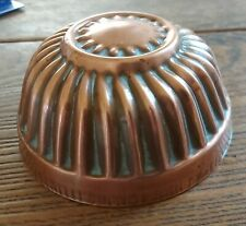 More details for antique victorian copper fluted jelly mould 5.25