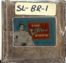 1965 WKBW New York The SUPERMAN SHOW Commander Tom Jolls On Air Graphic DC Rare