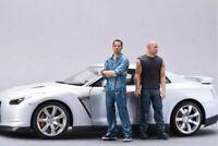 1:24 75mm Resin Figure Model Kit Speed Car Furious NO CAR Unassambled Unpainted