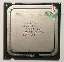 Intel Pentium D 820 2.8GHz / 775 / FSB 800MHz / SmithField / L2 2M / SL8CP