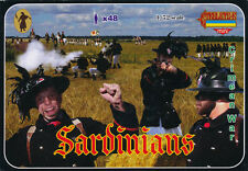 Strelets-R 1/72 M053 Sardinians (Crimean War) (48 Figures, 12 Poses)