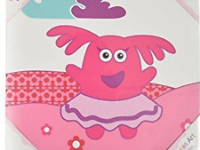 Gorgeous Izziwotnot Fifi Childrens Character Filled Cushion AND 30x 30 Cm Canvas