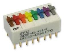 ERG SDS-8-014 8 VIE SPST Zoccoli DIP switch