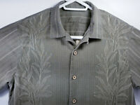 Tommy Bahama Mens Medium Shirt Floral Design 100% Silk
