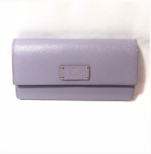 New Kate Spade New York Wellesley Fold Over Wallet Lilac Purple $159