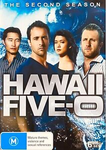 153 new sealed Hawaii Five 0 The Second Season DVD Region 4