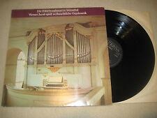 Werner Jacob svolge natalizie Orgel MUSICA VINILE LP eterna hoildebrandtorgel
