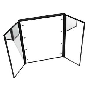 iTrend Cosmetic LED Lighted Makeup Mirror Foldable Portable Table Top Hand Held