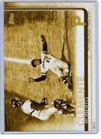 Roberto Clemente 2019 Topps Update Variations 5x7 Gold #US187 /10 Pirates