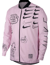 NIKE RUNNING RAIN JACKET COAT LARGE NATHAN BELL LARGE REPEL AJ7759-663 PINK