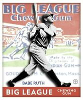 Babe Ruth All Eras Sports Inside Out 1933 Goudey Custom Card