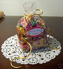VICTORIAN ROSE HAND CURED POTPOURRI WITH ORRIS ROOT & ESSENTIAL OILS 4.5 OUNCES