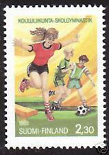 Women Football Young Physical Education Finland Mint MNH 1993