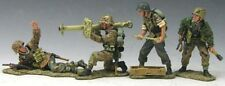 KING & COUNTRY WW2 GERMAN ARMY WS060 TANK AMBUSH MIB