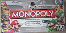 Nintendo MONOPOLY GAME COLLECTOR'S EDITION<NEW>-no plastic wrap