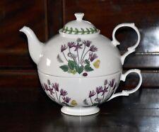 Portmeirion. Tea for one. Teiera con tazza. Nuova, nella confezione originale.