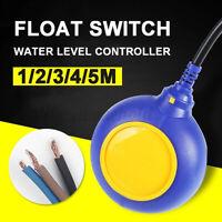 1/2/3/4/5M Schwimmschalter Schwimmerschalter Pegelschalter Niveau Sensor Regler