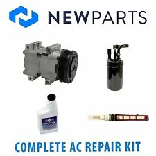 For Ford Ranger 1989-1993 Gas Complete A/C Repair Kit w/ NEW Compressor & Clutch