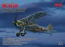 ICM 32021 WWII German Luftwaffe Ground Attack Aircraft CR. 42 LW 1/32