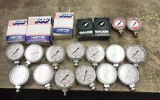 Ametek Precision Pressure Gauge Plus Other Brands  Lot Of 20