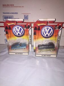Hot Wheels '67 VW Bus Pickup And Fastback  California Local Series