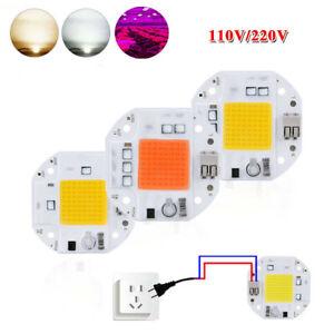 20W 30W 50W Full Spectrum LED COB chip Floodlight Smart IC Driver AC 220V 240V